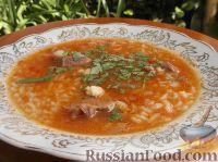 Фото к рецепту: Острый суп-харчо