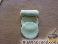 """Фото приготовления рецепта: Творожное печенье """"Розочки"""" - шаг №6"""