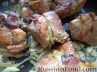 Фото к рецепту: Шашлык свиной в духовке