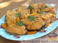 Фото к рецепту: Фаршированная рыба (еврейская кухня)