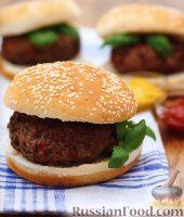 Фото к рецепту: Классические гамбургеры