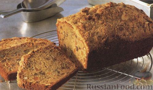 Рецепт Сладкий хлеб с курагой и грецким орехом