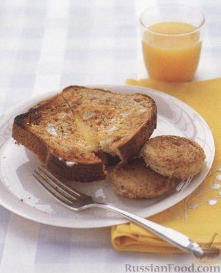 Рецепт Гренки с омлетом
