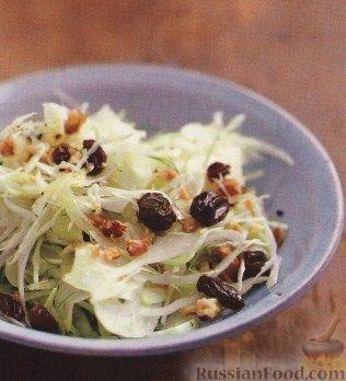 Рецепт Капустный салат с фенхелем