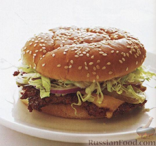Рецепт Классический чизбургер