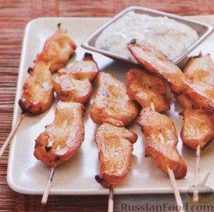 Рецепт Шашлыки из куриного филе