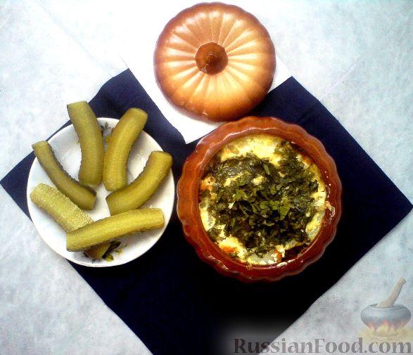 Рецепт Картошка в горшочках с куриным филе