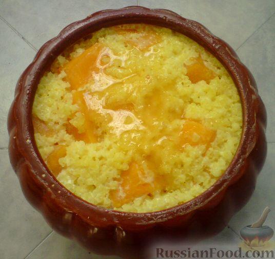 каша из тыквы рецепты приготовления в духовке