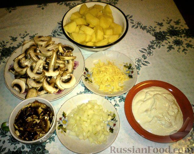 Белые грибы в горшочке с картошкой рецепт 177