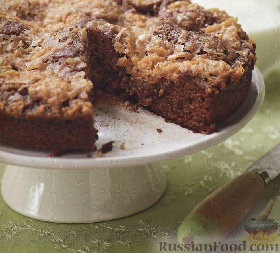 Рецепт Финиковый пирог