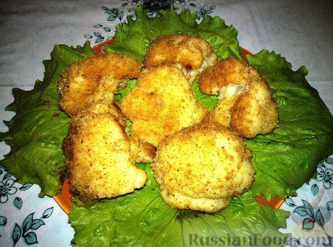 цветная капуста в кляре пошаговый рецепт с фото в сухарях