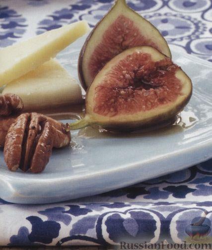 Рецепт Инжир в винно-медовом сиропе