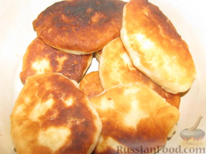 Рецепт Дрожжевые жареные пирожки с картошкой