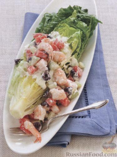Рецепт Греческий салат с йогуртовой заправкой