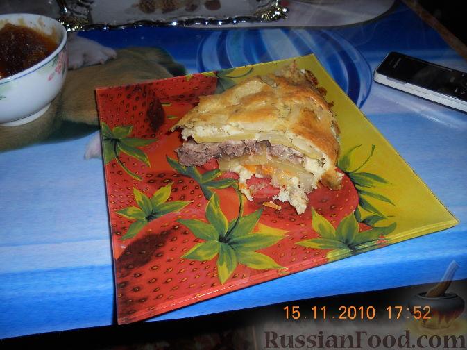 Рецепт картофельного пирога с фото