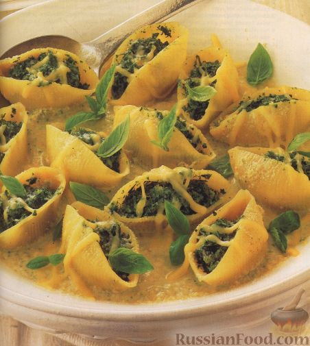 Рецепт Фаршированные макароны