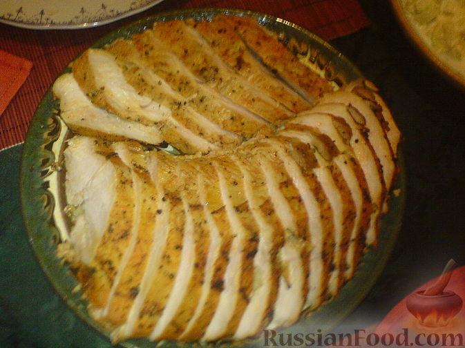 Рецепт Запеченное филе индейки