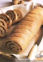 Фото к рецепту: Хлеб с орехами и оливками