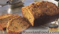 Фото к рецепту: Сладкий  хлеб с курагой и грецким орехом