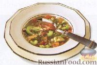 Фото к рецепту: Овощной суп с авокадо
