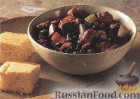 Фото к рецепту: Свинина с черной фасолью