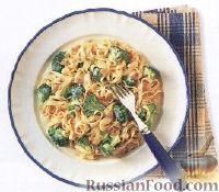 Фото к рецепту: Лапша с соусом Альфредо