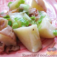 Фото к рецепту: Немецкий картофельный салат