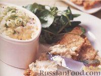 Фото к рецепту: Закуска из домашнего творога и яиц