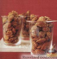 Фото к рецепту: Миндаль в пикантной глазури