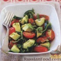Фото к рецепту: Овощной салат