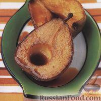 Фото к рецепту: Груша в карамели