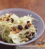 Фото к рецепту: Капустный салат с фенхелем