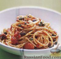 Фото к рецепту: Спагетти путанеска
