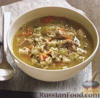 Фото к рецепту: Куриный суп с рисом