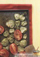 Фото к рецепту: Жареные помидоры