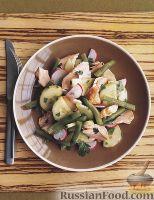 Фото к рецепту: Салат с лососем