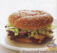 Фото к рецепту: Классический чизбургер