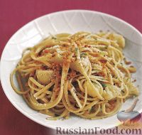 Фото к рецепту: Спагетти с цветной капустой