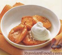 Фото к рецепту: Абрикосы, запеченные на гриле