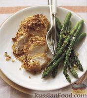 Фото к рецепту: Куриное филе со спаржей