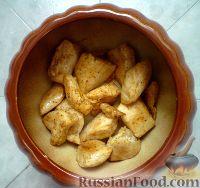 Фото приготовления рецепта: Картошка в горшочках с куриным филе - шаг №3