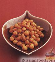 Фото к рецепту: Жареный нут с паприкой