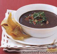 Фото к рецепту: Пикантный суп из фасоли