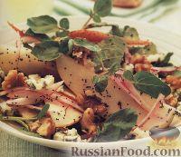 Фото к рецепту: Грушевый салат