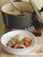 Фото к рецепту: Куриное филе с клецками