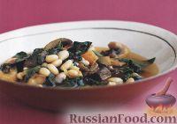 Фото к рецепту: Картофельное рагу с грибами и фасолью