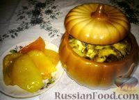 Фото к рецепту: Картошка в горшочках с грибами