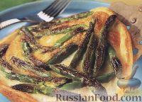 Фото к рецепту: Омлет со спаржей