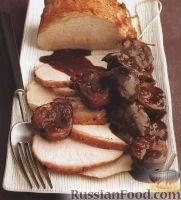 Фото к рецепту: Свинина с шалотом и инжиром