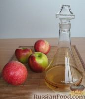 Фото к рецепту: Яблочный уксус